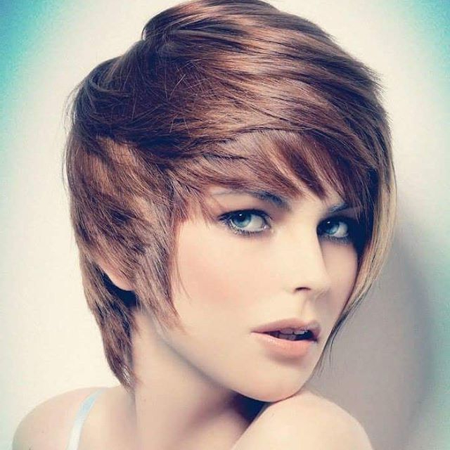 25 Simple Easy Pixie Haircuts For Round Faces – Short Hairstyles Regarding Cute Shaped Crop Hairstyles (View 5 of 25)