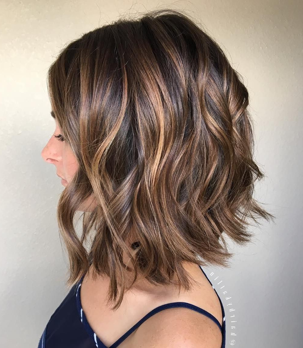 25 Special Occasion Hairstyles In 2018   Skin Care Products You Must Regarding Soft Brown And Caramel Wavy Bob Hairstyles (View 4 of 25)