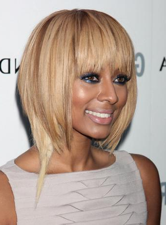 25 Stunning Bob Hairstyles For Black Women In Dark Blonde Rounded Jaw Length Bob Haircuts (View 15 of 25)