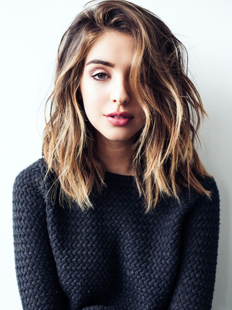 25 Super Cute Medium Haircuts | J | Pinterest | Hair, Hair Styles With Loosely Waved Messy Brunette Bob Hairstyles (View 18 of 25)