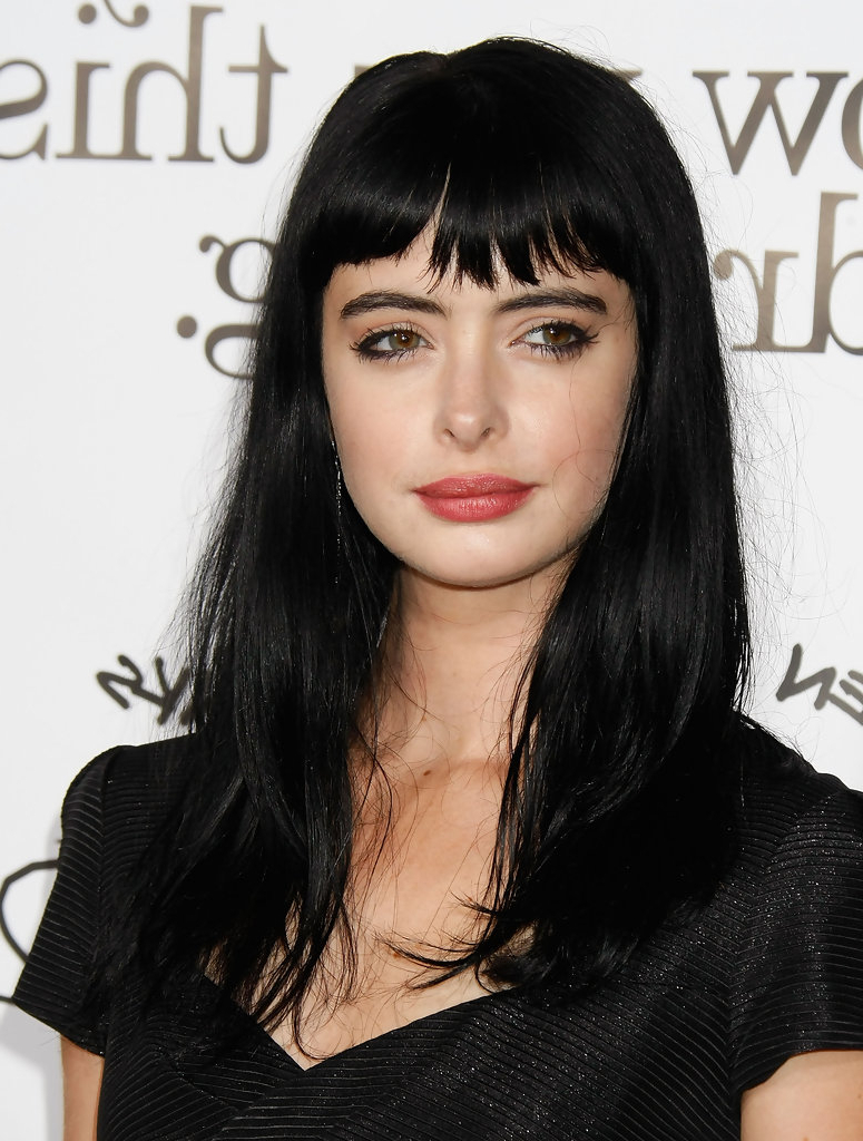 25 Things About Black Hair With Bangs You Have To Experience It For Very Short Haircuts With Long Bangs (View 25 of 25)