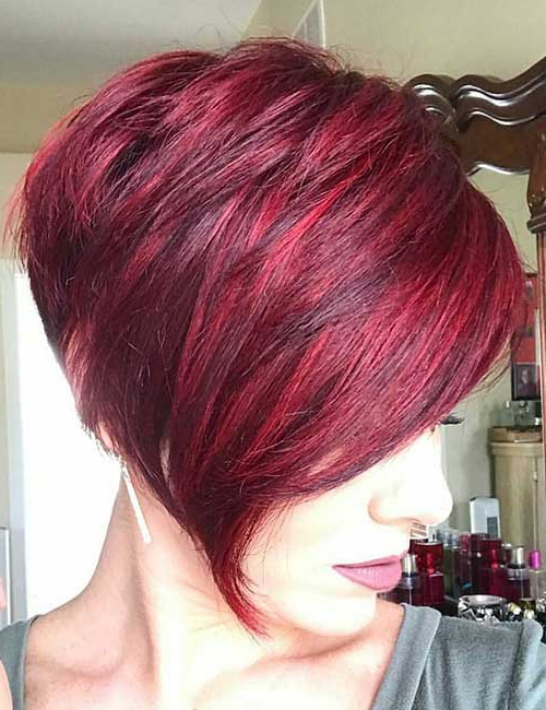 25 Trendy Balayage Looks For Short Hair For Stacked Black Bobhairstyles  With Cherry Balayage (View 10 of 25)