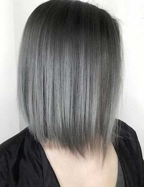 25 Trendy Balayage Looks For Short Hair Throughout Stacked Black Bobhairstyles  With Cherry Balayage (View 21 of 25)