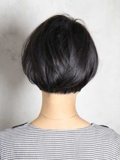 25 Trendy Short Textured Haircuts To Try | Hair | Pinterest | Short Regarding Short Bob Hairstyles With Tapered Back (View 6 of 25)