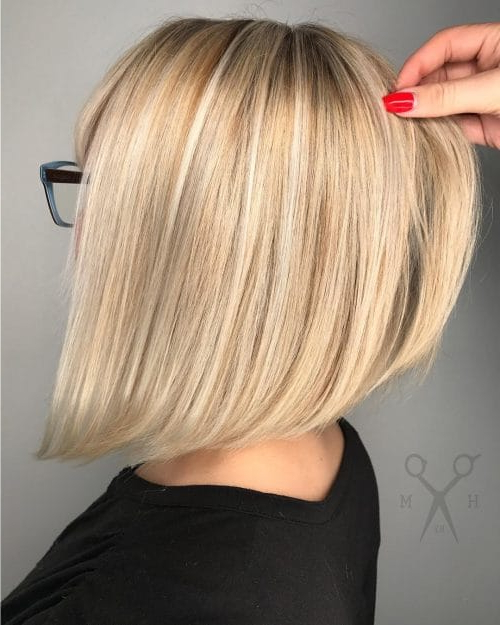 26 Angled Bob Hairstyles Trending Right Right Now For 2018 With Angled Bob Hairstyles (View 12 of 25)