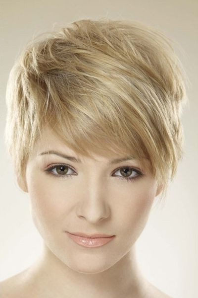 26 Best Short Haircuts For Long Face – Popular Haircuts With Regard To Edgy Pixie Haircuts