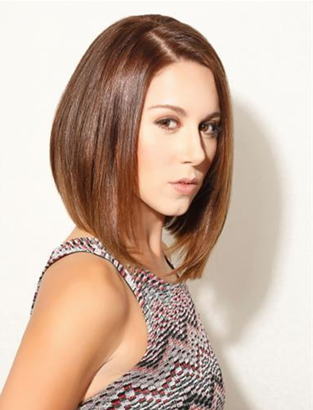 26 Long Short Bob Haircuts For Fine Hair 2017 2018 – Page 3 – Hairstyles For Disheveled Burgundy Brown Bob Hairstyles (View 14 of 25)