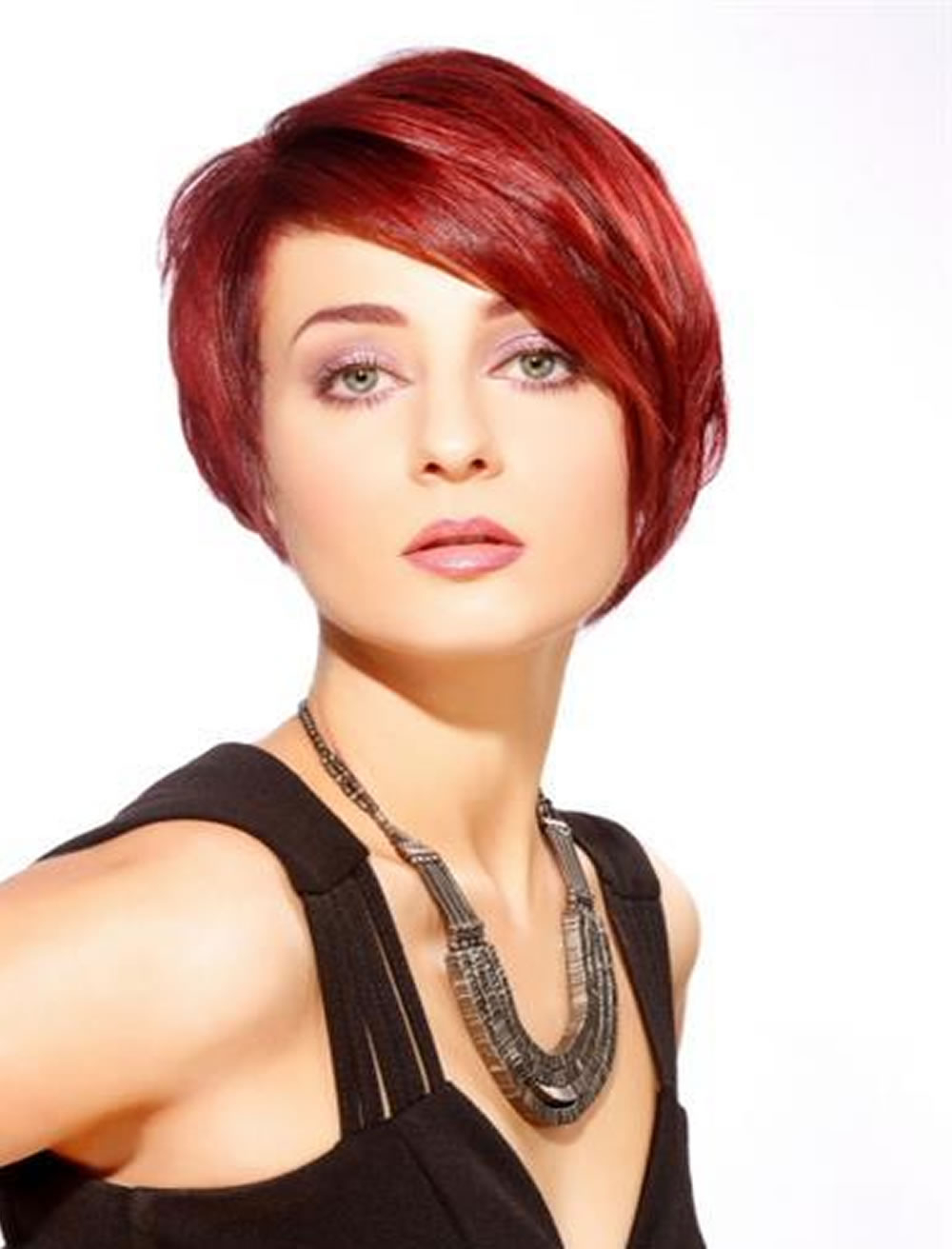 26 Long Short Bob Haircuts For Fine Hair 2017 2018 – Page 3 – Hairstyles Throughout Disheveled Burgundy Brown Bob Hairstyles (View 24 of 25)