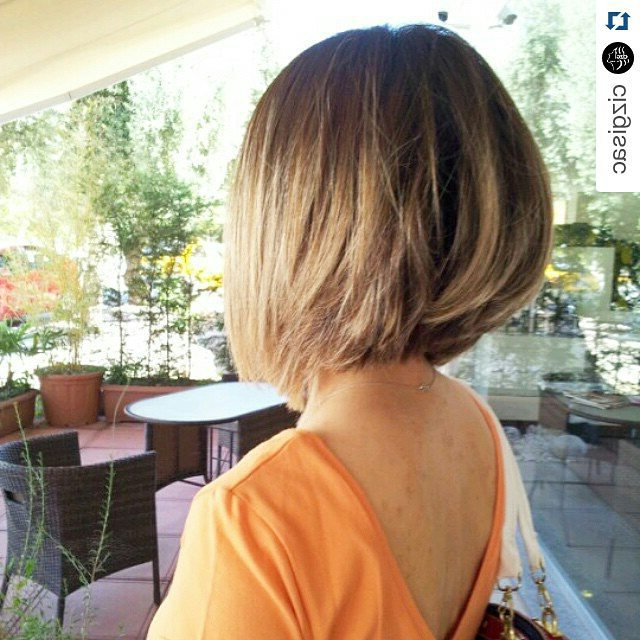 26 Lovely Bob Hairstyles: Short, Medium And Long Bob Haircut Ideas Throughout Messy Shaggy Inverted Bob Hairstyles With Subtle Highlights (View 11 of 25)
