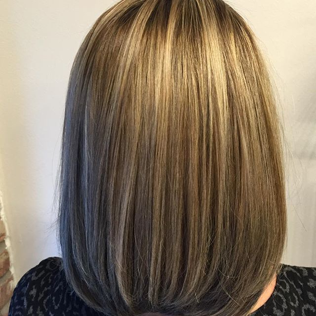 26 Lovely Bob Hairstyles: Short, Medium And Long Bob Haircut Ideas With Regard To Straight Cut Bob Hairstyles With Layers And Subtle Highlights (View 10 of 25)