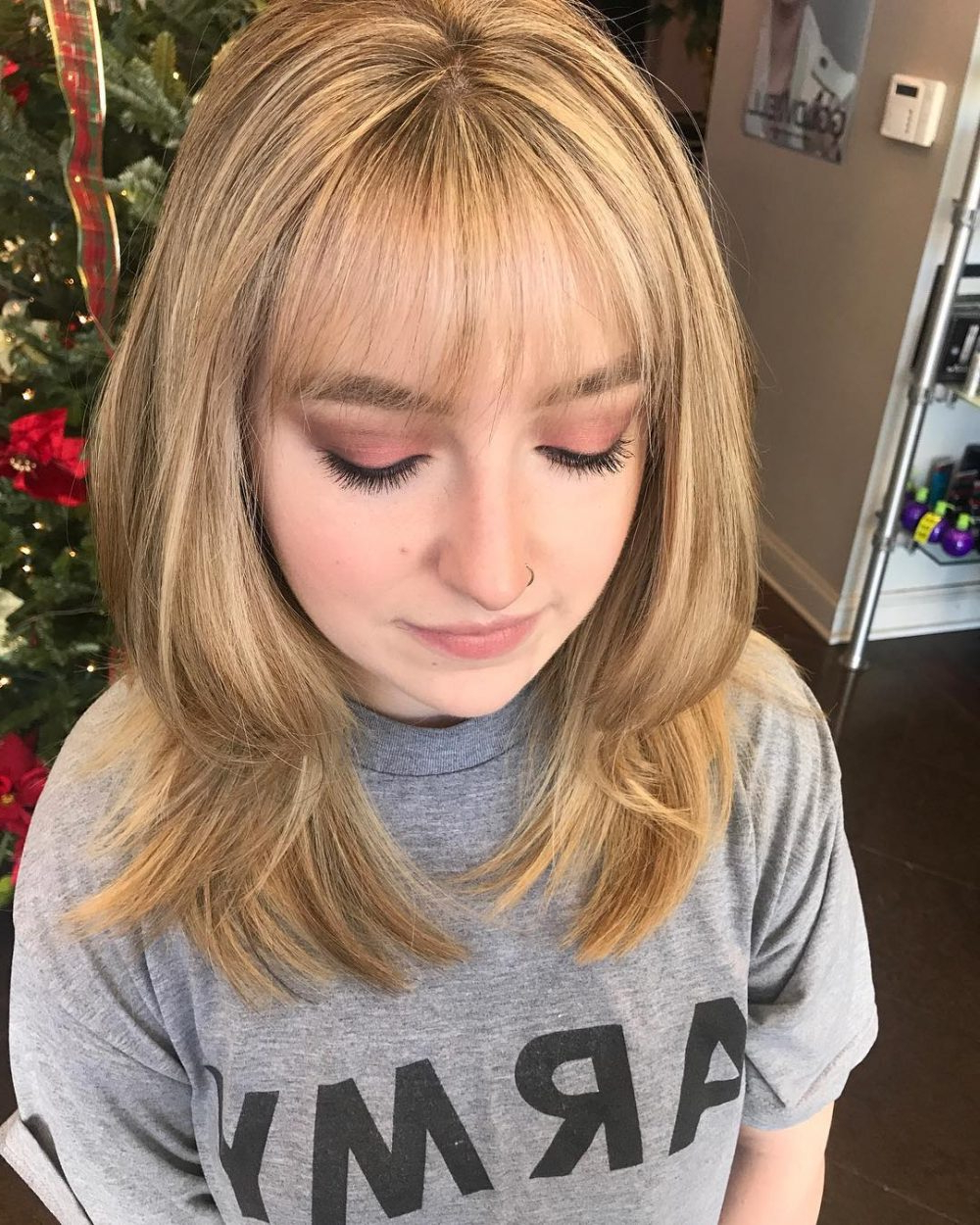 26 Sexiest Wispy Bangs You Need To Try In 2018 Pertaining To Short Haircuts With Wispy Bangs (View 5 of 25)