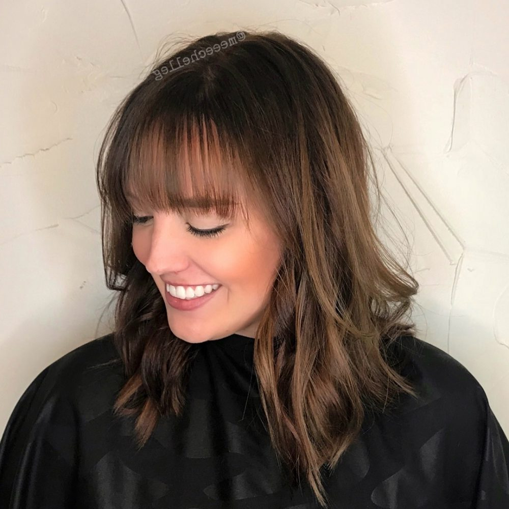 26 Sexiest Wispy Bangs You Need To Try In 2018 Regarding Short Haircuts With Wispy Bangs (View 15 of 25)