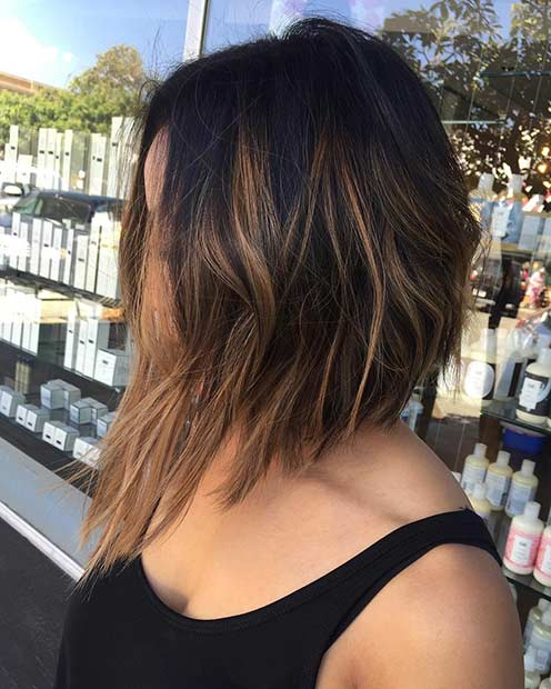 27 Chic Bob Hairstyles And Haircuts For 2017   Stayglam Within Straight Textured Angled Bronde Bob Hairstyles (View 17 of 25)