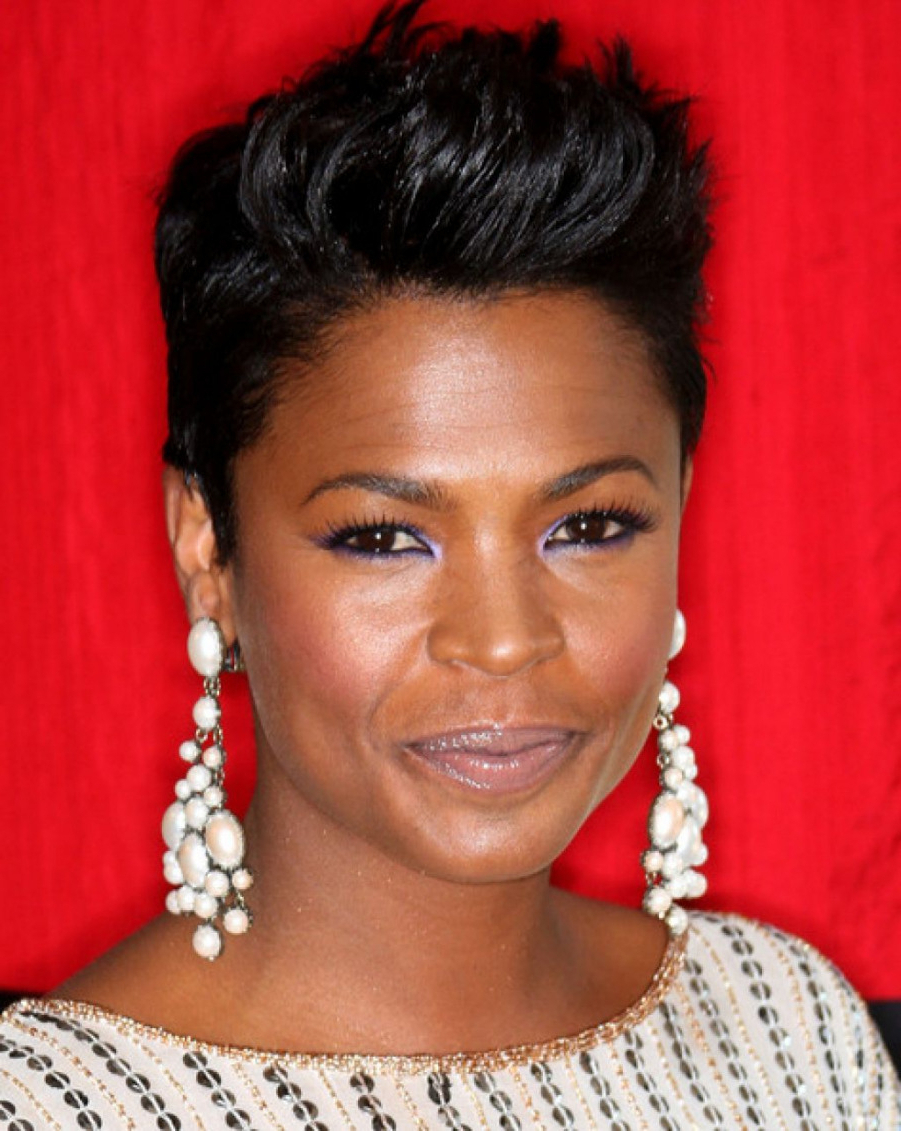 27 Short Hairstyles And Haircuts For Black Women Of Class | Best In Really Short Haircuts For Black Women (View 24 of 25)