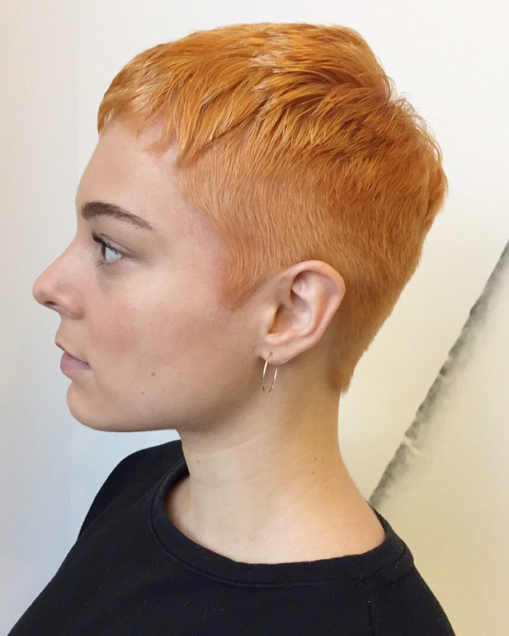27 Very Short Haircuts You Have To See In 2018 In Women Short Hairstyles For Oval Faces (View 4 of 25)