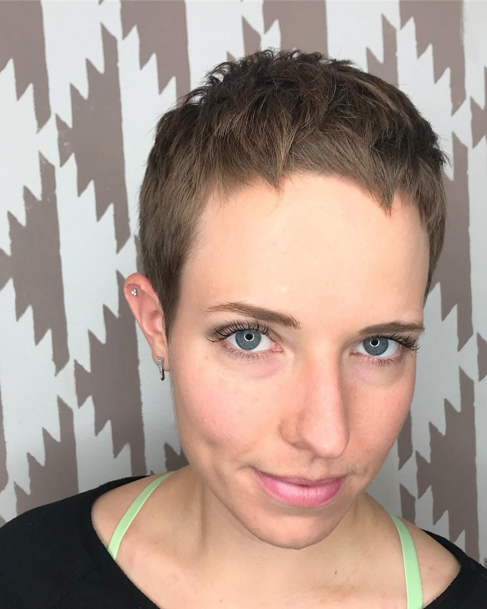 27 Very Short Haircuts You Have To See In 2018 Within Super Short Haircuts For Girls (View 3 of 25)
