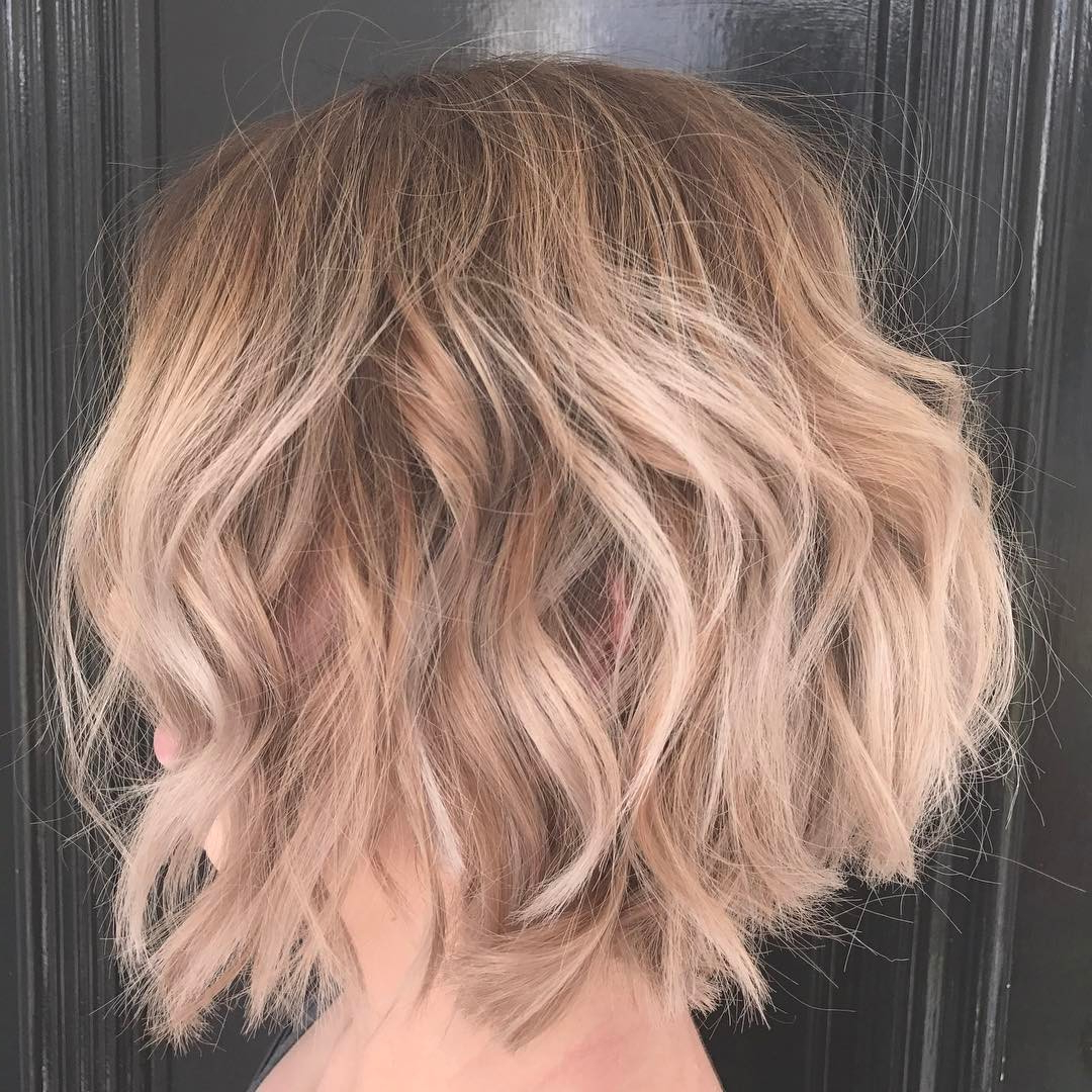 28 Best New Short Layered Bob Hairstyles – Page 2 Of 6 – Popular Throughout Tousled Wavy Blonde Bob Hairstyles (View 14 of 25)