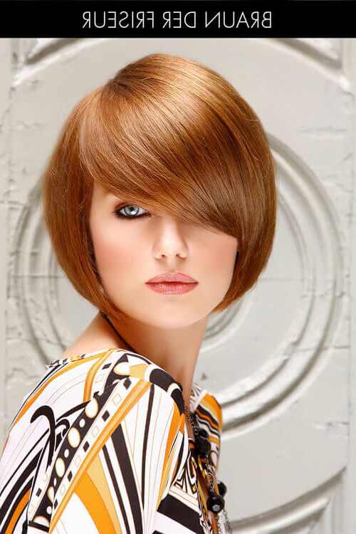 28 Most Flattering Bob Haircuts For Round Faces In 2018 Regarding Sleek Rounded Inverted Bob Hairstyles (View 25 of 25)