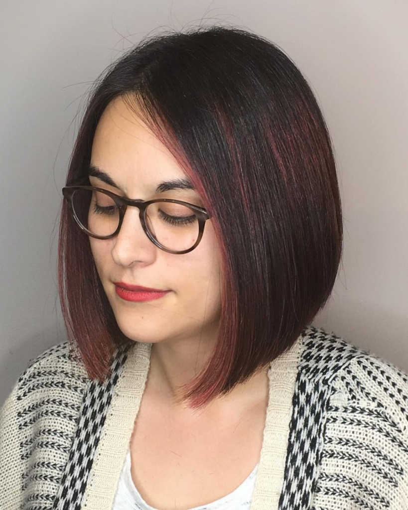28 Most Flattering Bob Haircuts For Round Faces In 2018 Within Short Throughout Flattering Short Haircuts For Round Faces (View 9 of 25)