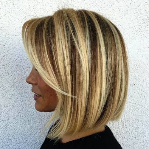 29 Alluring Short Bob Hairstyles To Make You Look More Fascinating With Regard To Choppy Wispy Blonde Balayage Bob Hairstyles (View 22 of 25)