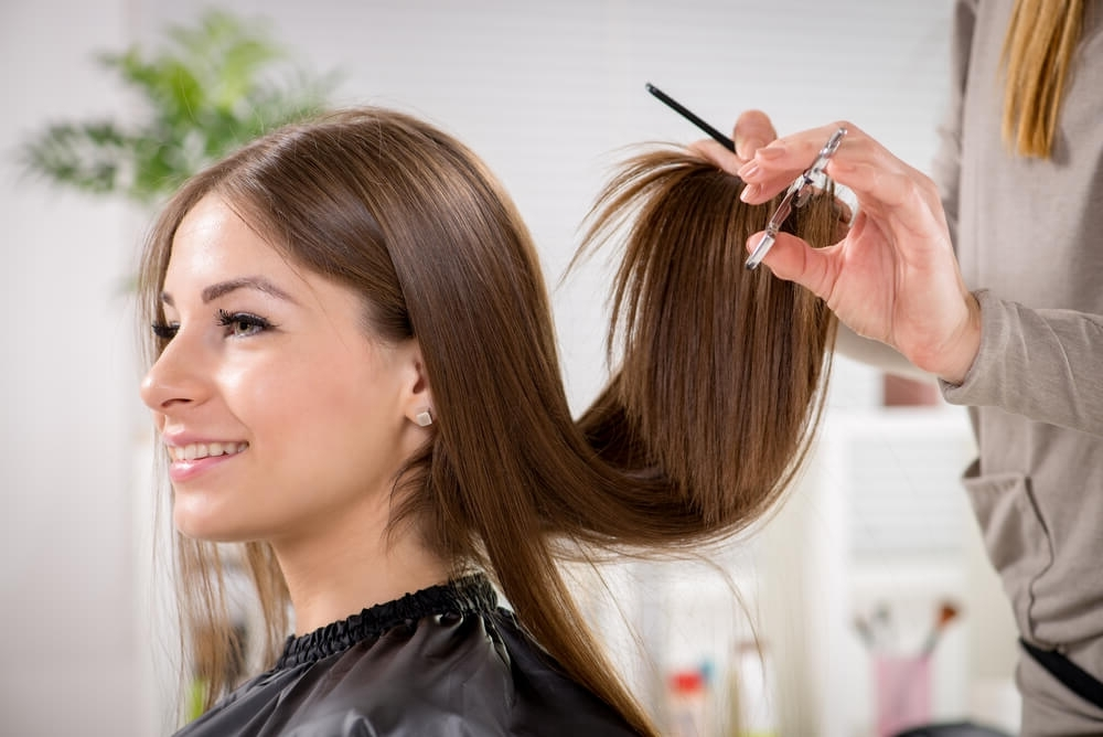 29 Long, Straight Haircuts And Styles For Women (Photo Ideas) Within Straight Triple Threat Ponytail Hairstyles (View 16 of 25)