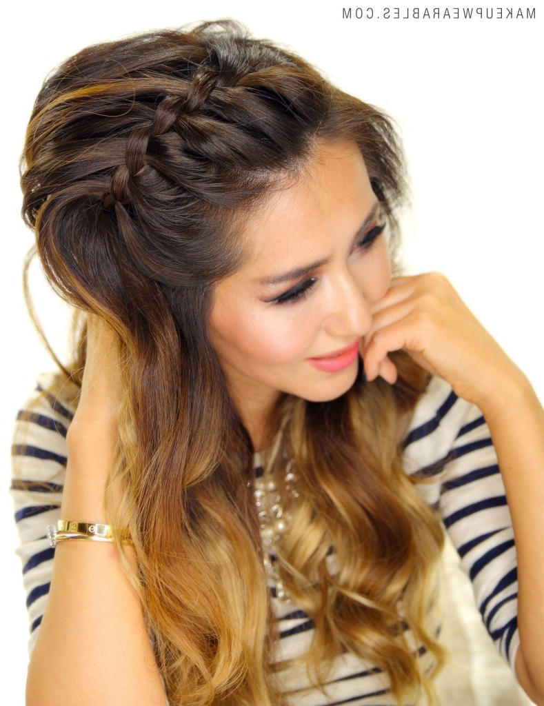 3 Easy Peasy Headband Braid Hairstyles For Lazy Girls With Regard To Short Hairstyles With Headbands (View 23 of 25)