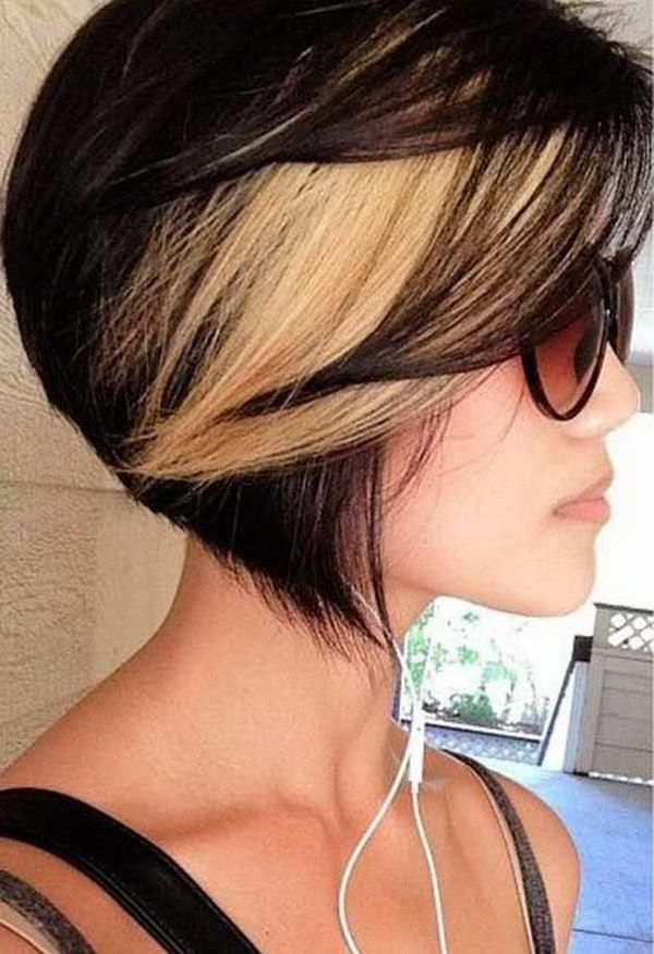 3 Edgy Ways Of Using Highlights For Reviving Your Short Hair Inside Short Crop Hairstyles With Colorful Highlights (View 23 of 25)