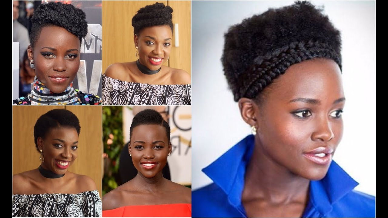 3 Shades Of Lupita – Hairstyles For Short Afro Kinky Hair | Kim Dave With Regard To Short Haircuts For Kinky Hair (View 4 of 25)