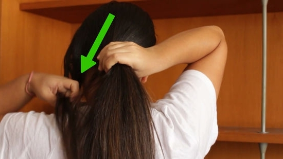 3 Ways To Do A Crisscross Ponytail – Wikihow Inside Criss Cross Side Ponytails (View 14 of 25)