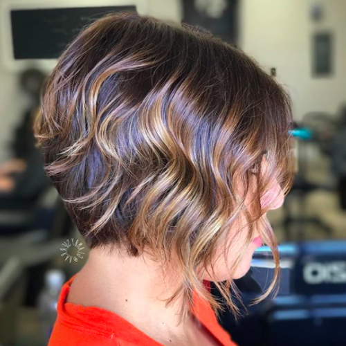 30 A Line Bob Haircuts 2017 | Recruit2Network In Stacked Copper Balayage Bob Hairstyles (View 24 of 25)