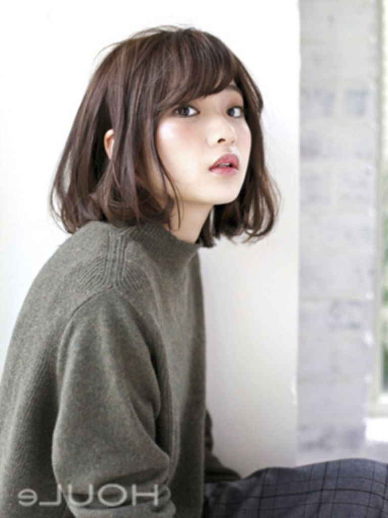 30+ Beautiful Korean Short Hairstyles For Female – Styles Art Intended For Korean Short Bob Hairstyles (View 25 of 25)