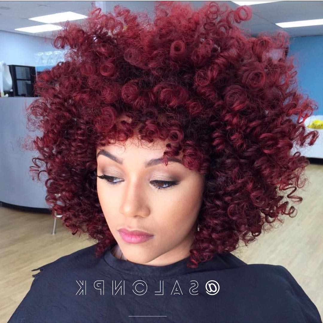 30 Best African American Hairstyles 2018 – Hottest Hair Ideas For Inside Short Haircuts For Black Women With Fine Hair (View 12 of 25)