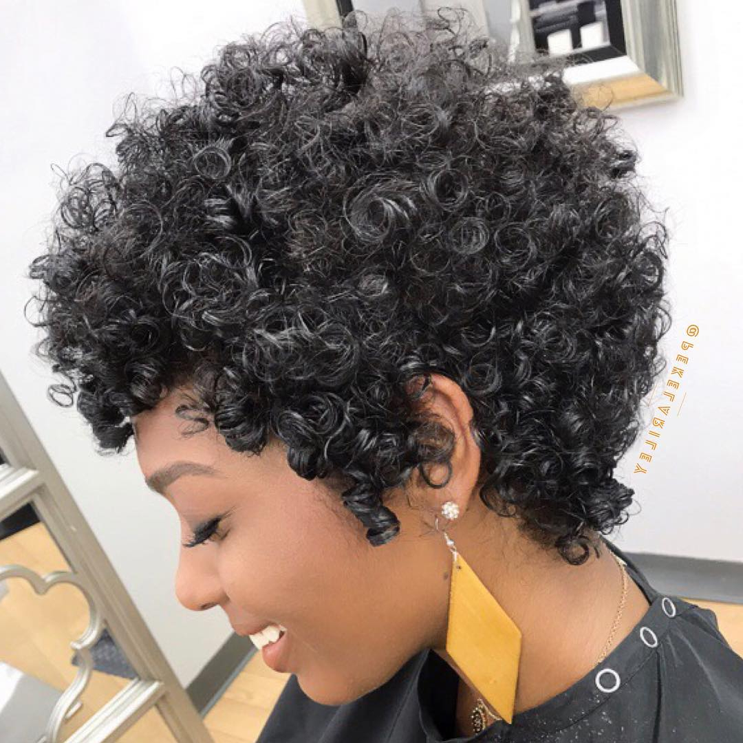 30 Best African American Hairstyles 2018 – Hottest Hair Ideas For Intended For Short Hairstyles For Black Women With Gray Hair (View 13 of 25)