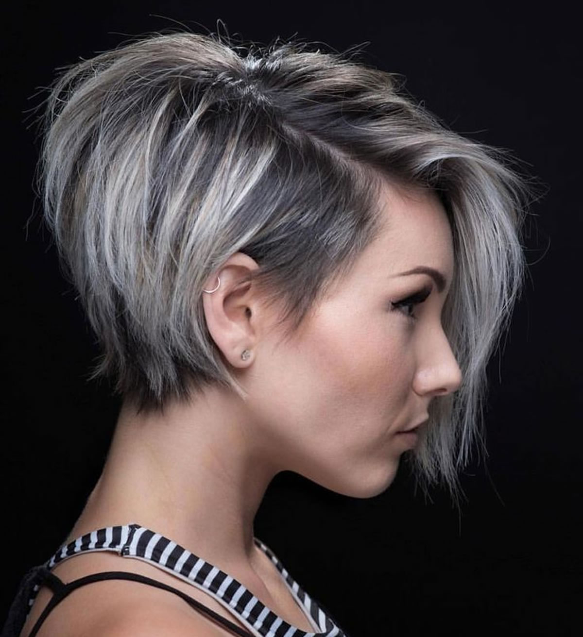 30 Best Asymmetric Short Haircuts For Women Of All Time – Hairstyles In Symmetrical Short Haircuts (View 8 of 25)