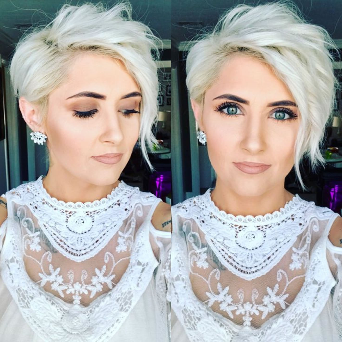 30 Best Asymmetric Short Haircuts For Women Of All Time – Hairstyles Regarding Symmetrical Short Haircuts (View 11 of 25)