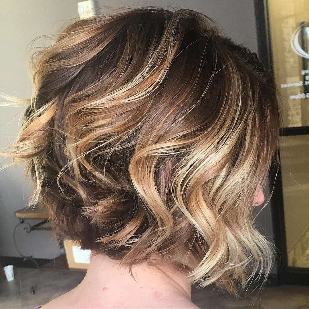 30 Best Balayage Hairstyles For Short Hair 2018 – Balayage Hair Throughout Short Hairstyles With Balayage (View 9 of 25)