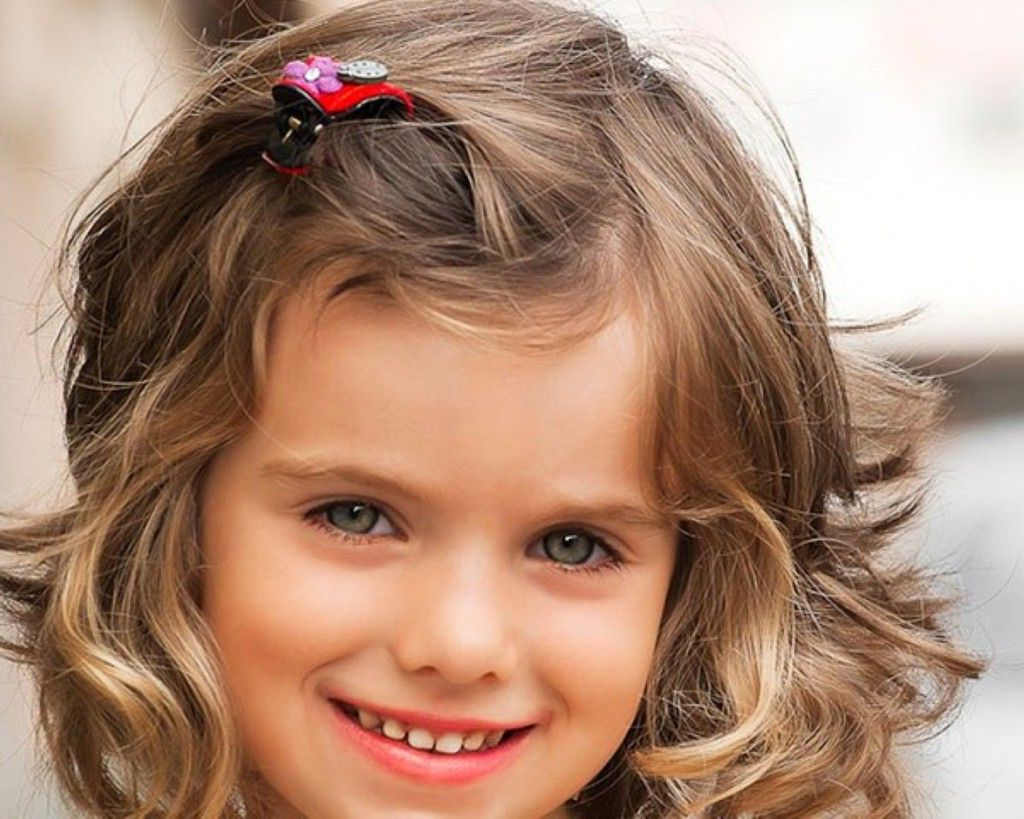30 Best Curly Hairstyles For Kids | Hair Stuff | Pinterest | Curly Within Short Hairstyles For Young Girls (View 3 of 25)