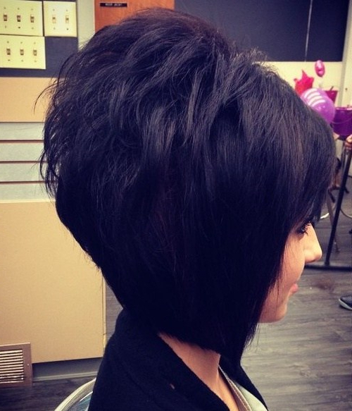 30 Best Short Hairstyles & Haircuts 2019 – Bobs, Pixie Cuts, Ombre Pertaining To Blue Balayage For Black Choppy Bob Hairstyles (View 21 of 25)