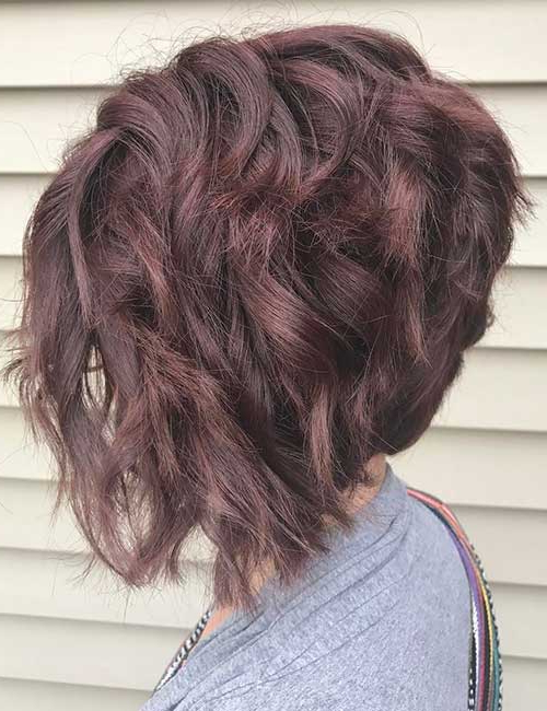 30 Best Stacked Hairstyle Ideas – Blushery Within Stacked Black Bobhairstyles  With Cherry Balayage (View 17 of 25)