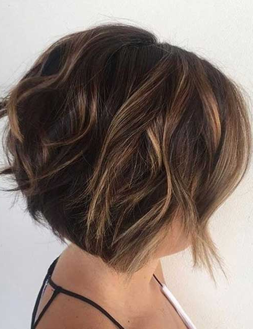 30 Best Stacked Hairstyle Ideas With Regard To Short Stacked Bob Hairstyles With Subtle Balayage (View 11 of 25)