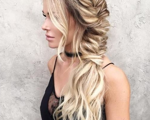 30 Cute Braided Ponytail Ideas – Hairstyles Ideas Within Messy Side Ponytails (View 15 of 25)