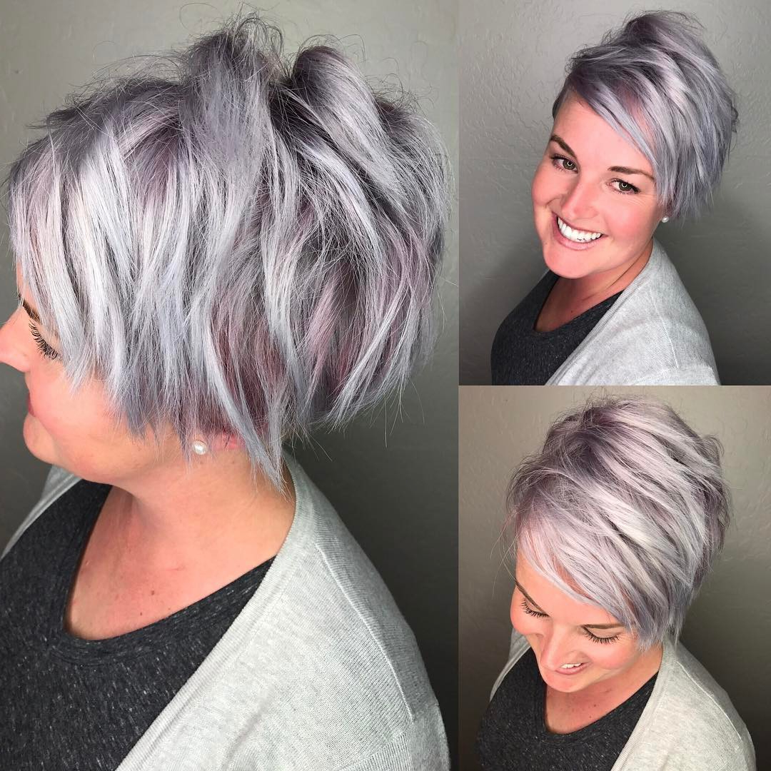 30 Cute Pixie Cuts: Short Hairstyles For Oval Faces – Popular Haircuts For Short Haircuts For Women In Their 30S (View 21 of 25)