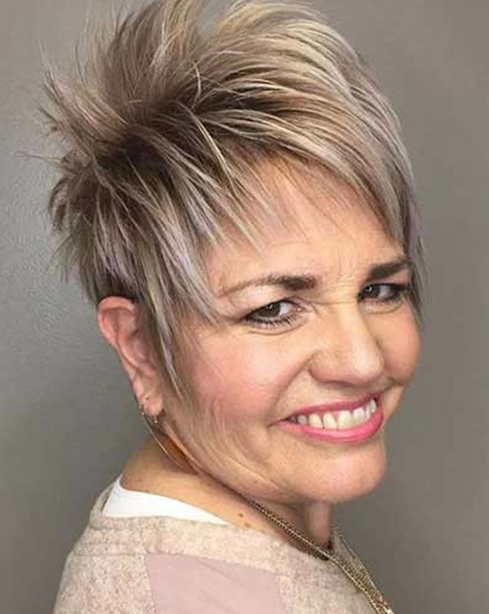 30 Easy Short Hairstyles For Older Women – You Should Try! – Hairstyles Pertaining To Older Lady Short Hairstyles (View 13 of 25)