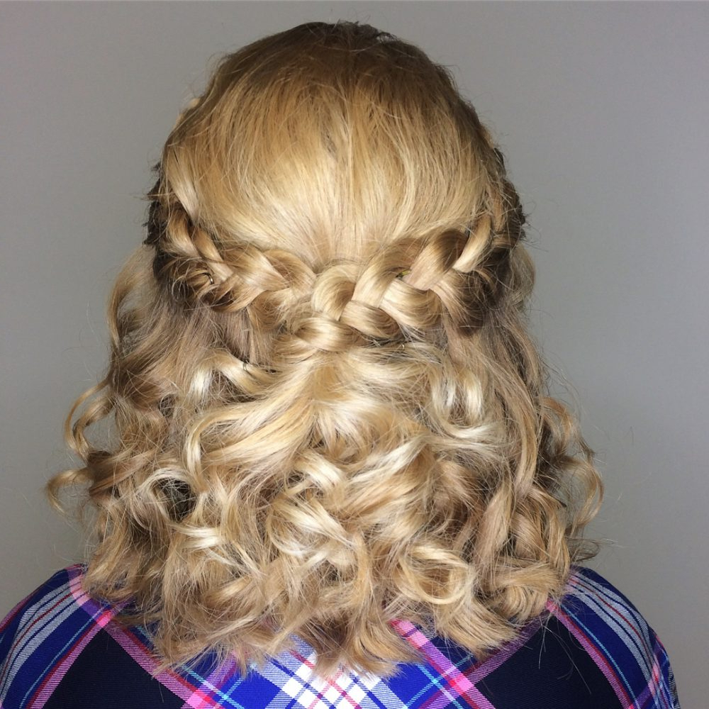 30 Gorgeous Prom Hairstyles For Short Hair Throughout Short Hairstyles For Prom Updos (View 6 of 25)