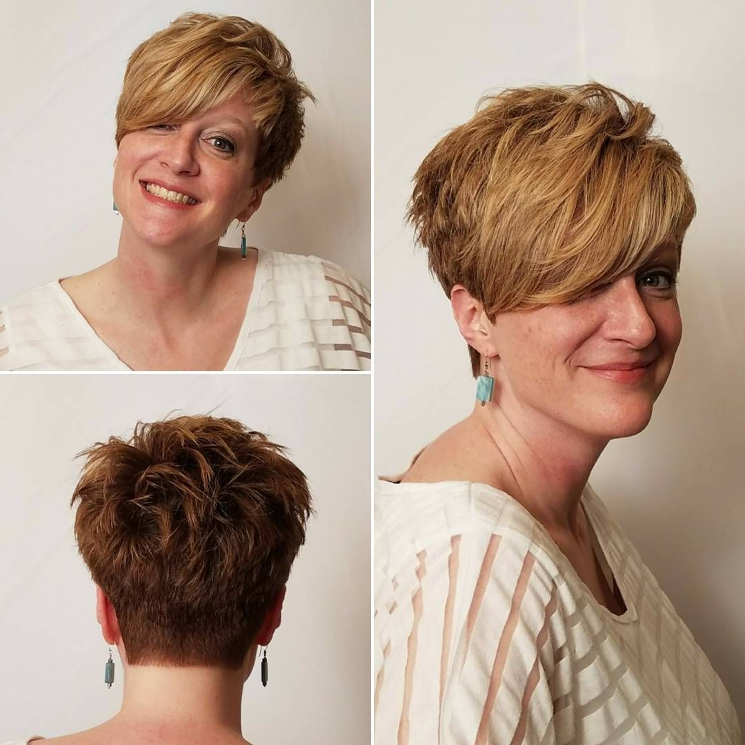 30 Hottest Pixie Haircuts 2018 – Classic To Edgy Pixie Hairstyles Throughout Pixie Layered Short Haircuts (View 20 of 25)
