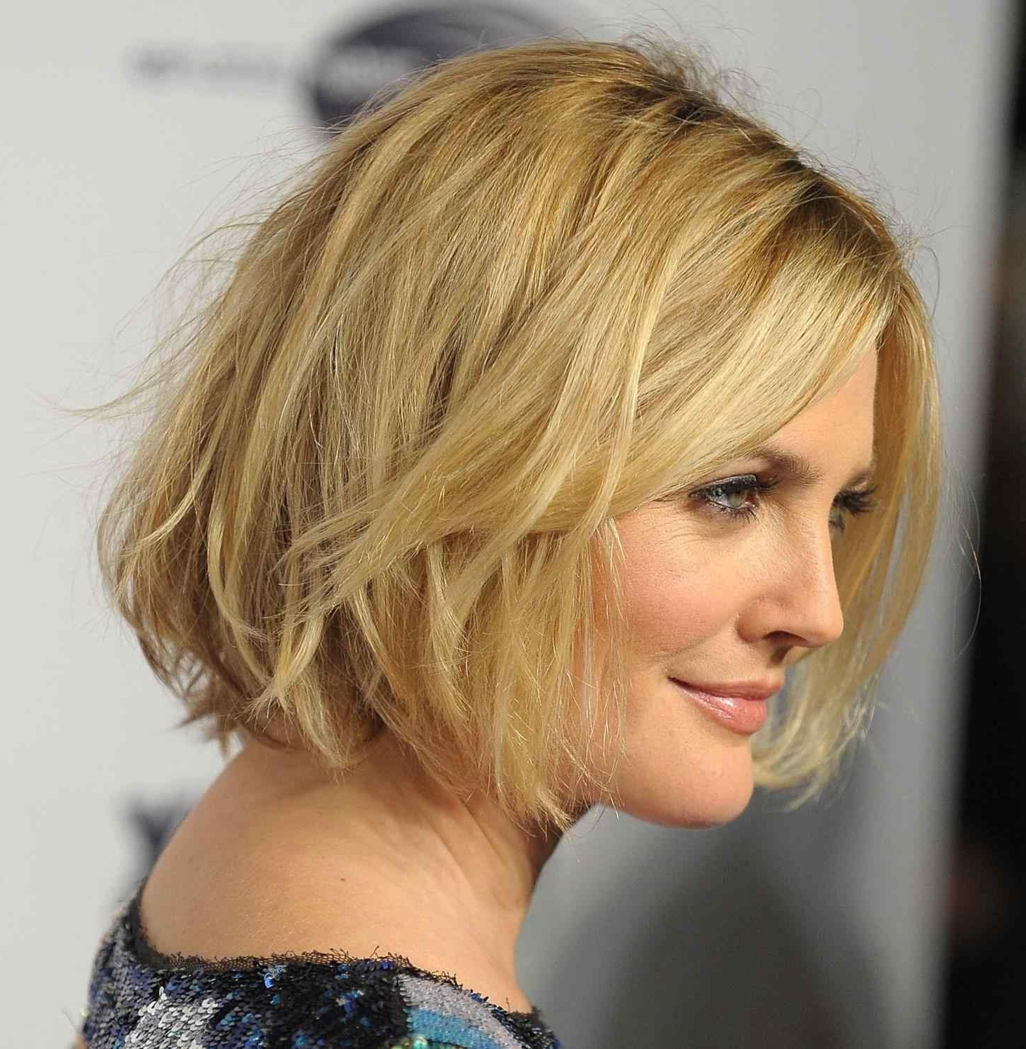 30 Interesting Short Haircuts For Fat Faces 2018 ~ Louis Palace Intended For Easy Maintenance Short Hairstyles (View 21 of 25)