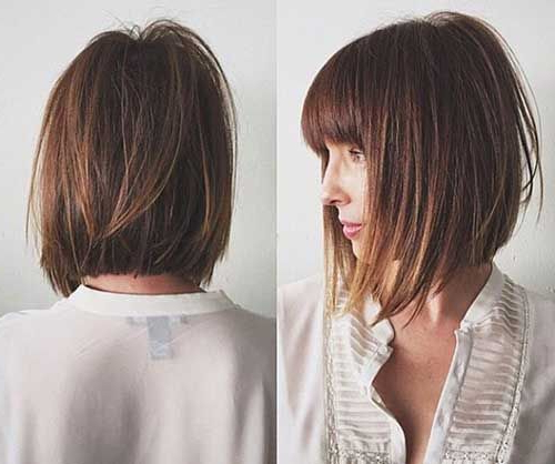 30 Layered Bob Haircuts For Weightless Textured Styles In Blunt Bob Haircuts With Layers (View 3 of 25)