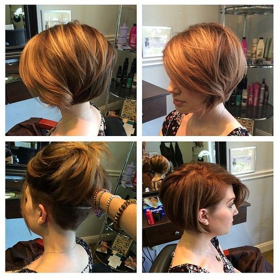 30 Layered Bob Haircuts For Weightless Textured Styles With Regard To Undercut Bob Hairstyles With Jagged Ends (View 6 of 25)