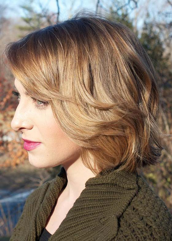 30 Short Hairstyles For Fine Hair Pertaining To Short To Medium Feminine Layered Haircuts (View 24 of 25)