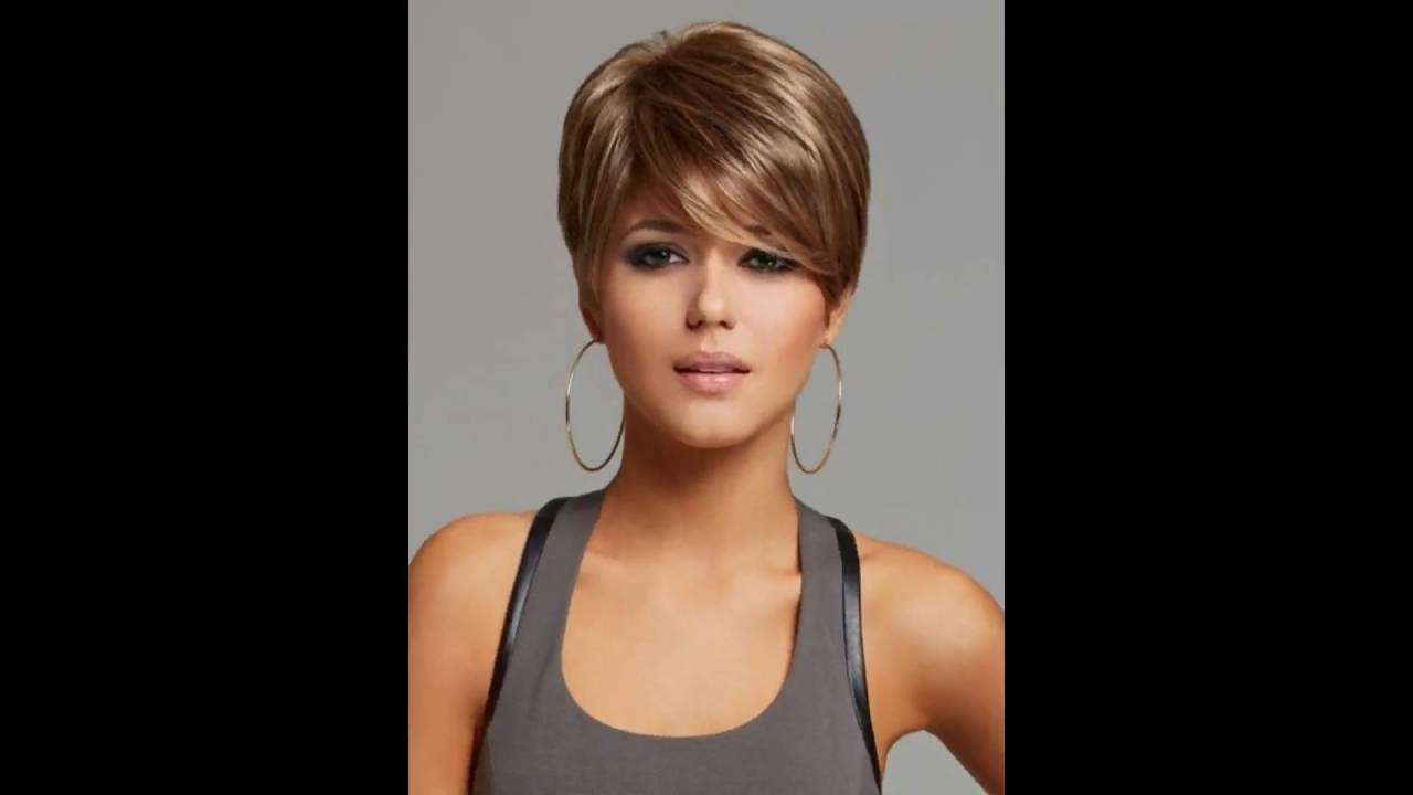 30 Short Hairstyles With Bangs Thick Hair | Short Thick Hairstyles Regarding Short Hairstyles For Very Thick Hair (View 9 of 25)